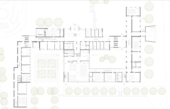 sanierung_schule_ bielefeld_strothotte_architekten_fassade_grundriss