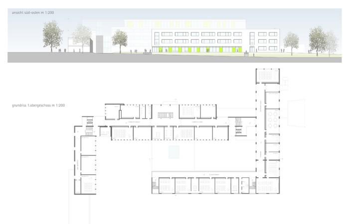 sanierung_schule_ bielefeld_strothotte_architekten_fassade_ansicht