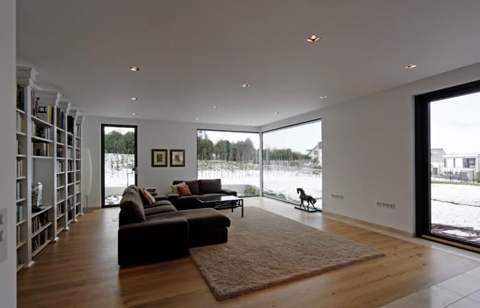 Stadtvilla innenarchitektur  cube inside. interior design eines wohnhauses. › Architekten ...