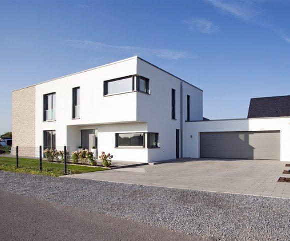 Moderne Haus Flachdach in Bünde I Strothotte Architekten