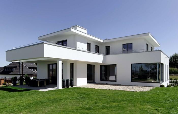 Pur wohnhaus in bad oeynhausen architekten strothotte for Architekten bungalow modern